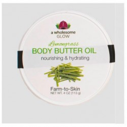 Body Butter Oil Lemongrass